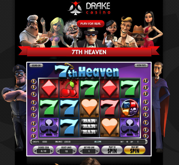7th Heaven @ Drake Casino playingtowinbig.com