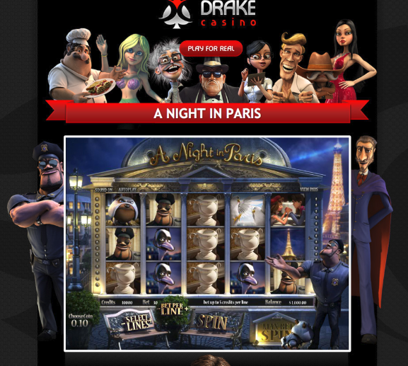 A Night in Paris @ Drake Casino playingtowinbig.com