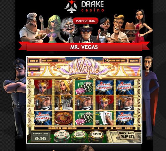 Mr Vegas @ Drake Casino playingtowinbig.com