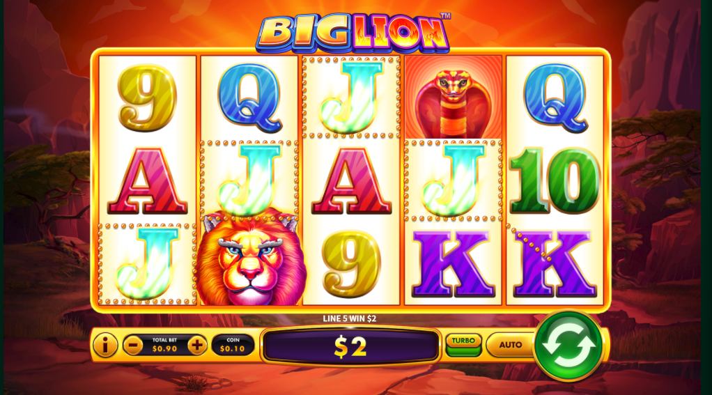 Big Lion - Free Skywind Game - Lucky Zodiac Casino Games